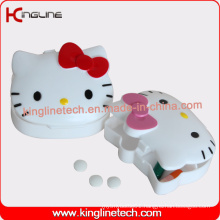Latest Design Plastic 4-Cases Pill Box (KL-9093)